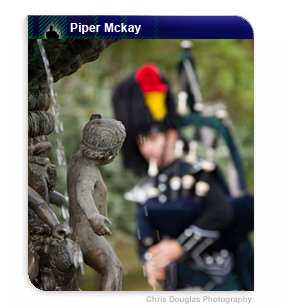 Bagpiper Piper Mckay - The Real Mckay Scottish Bagpiper