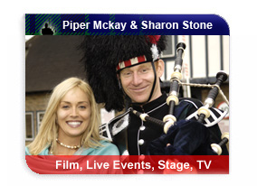 Piper Mckay with Sharon Stone