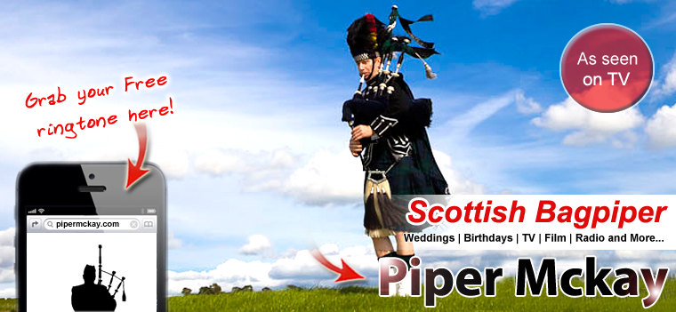 Wedding Bagpiper Hire